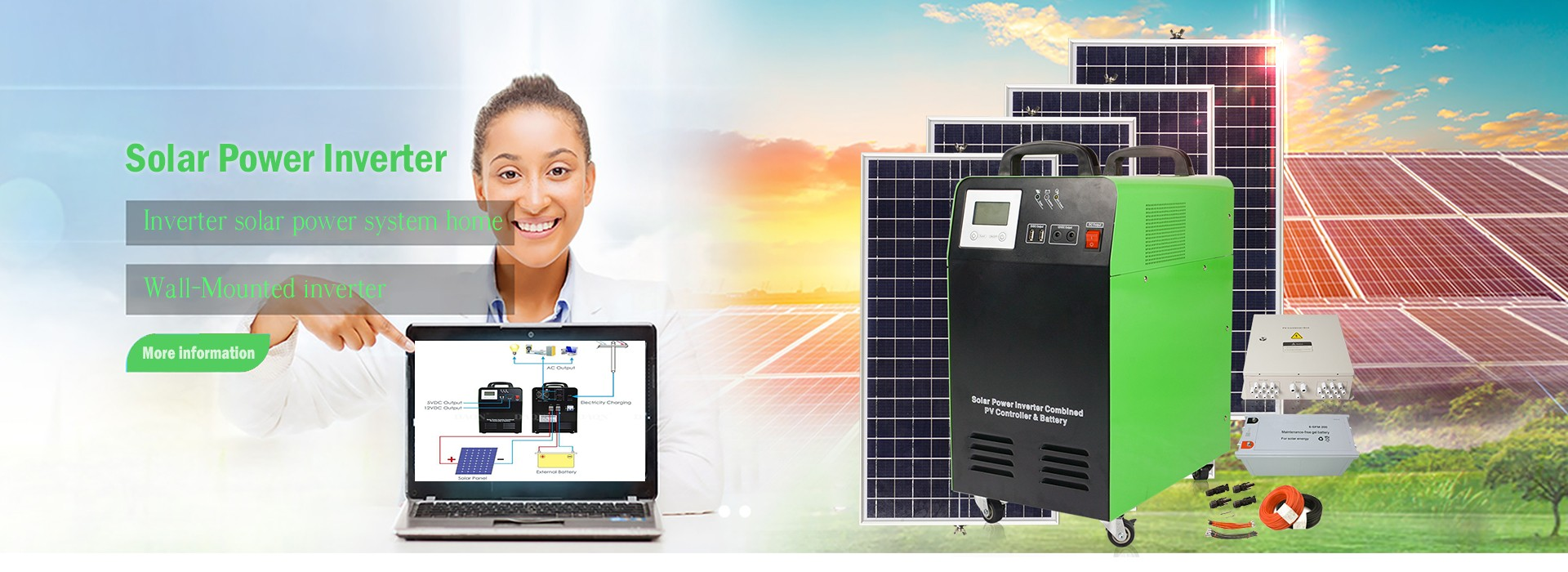 Integrated Solar Power System