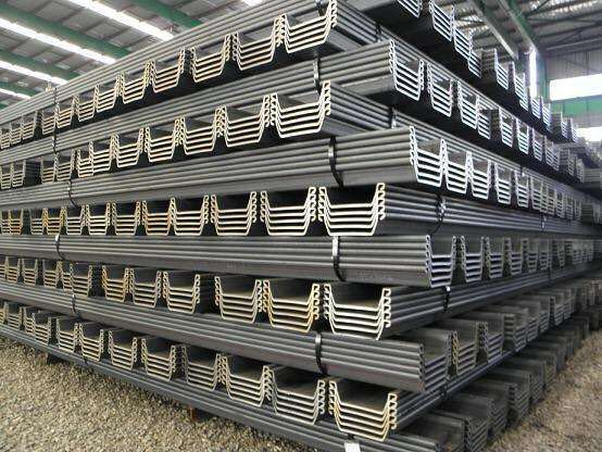 galvanized steel pile sheet