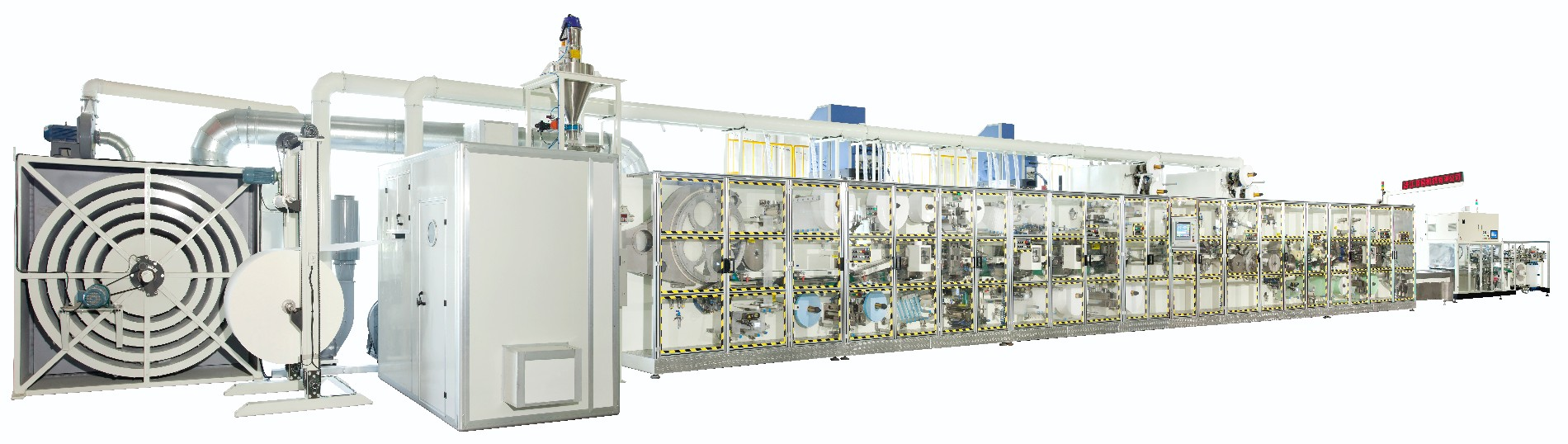 Automatic Sanitary Pad Making Machine