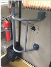 electric swing door lift lock