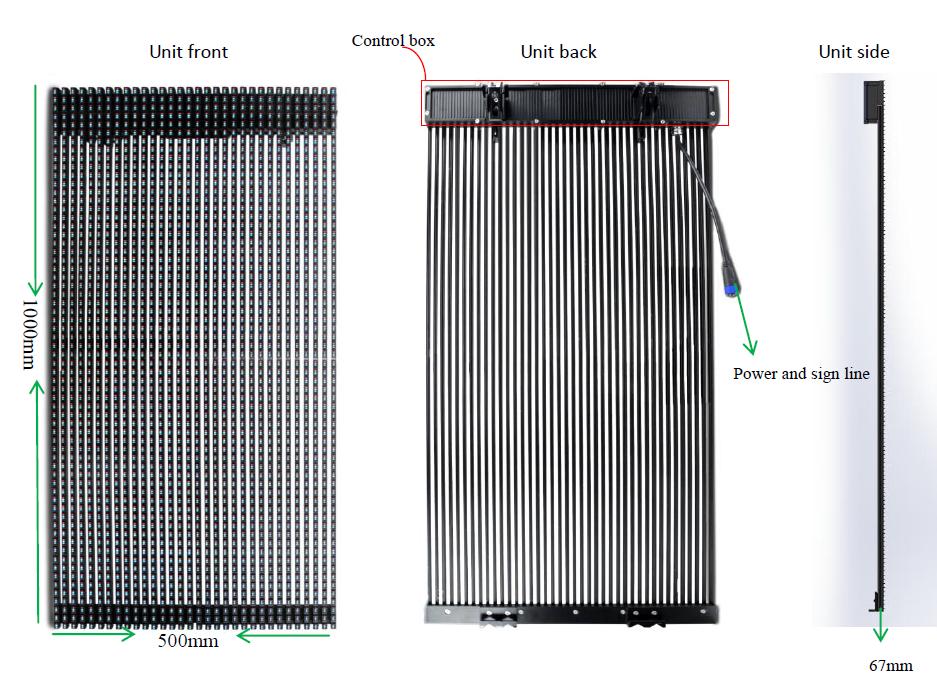 Outdoor led Curtain