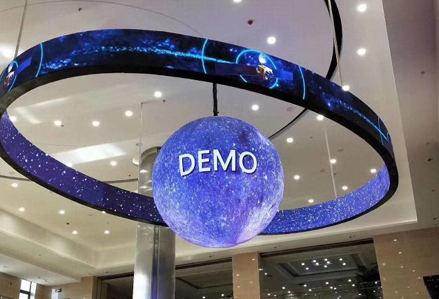 LED sphere Screen