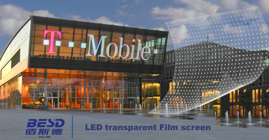 LED screen film