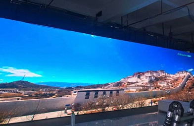 2.6mm indoor HD LED video screen in Mexico