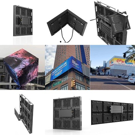 Outdoor Wall Paper Series LED Screen