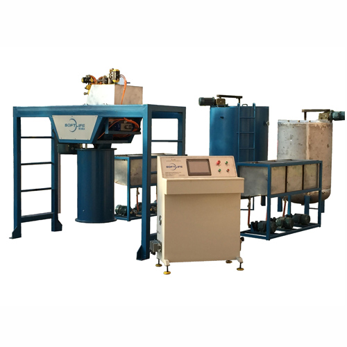 Auto batching machine