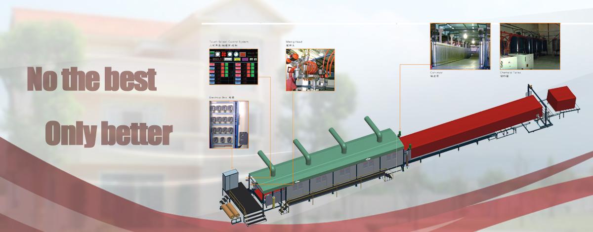Cnc-continuous-foaming-production-line