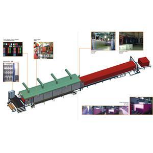 Cnc continuous foaming production line