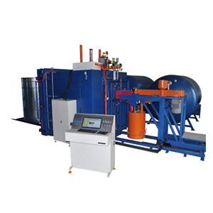 Automatic vacuum foaming machine