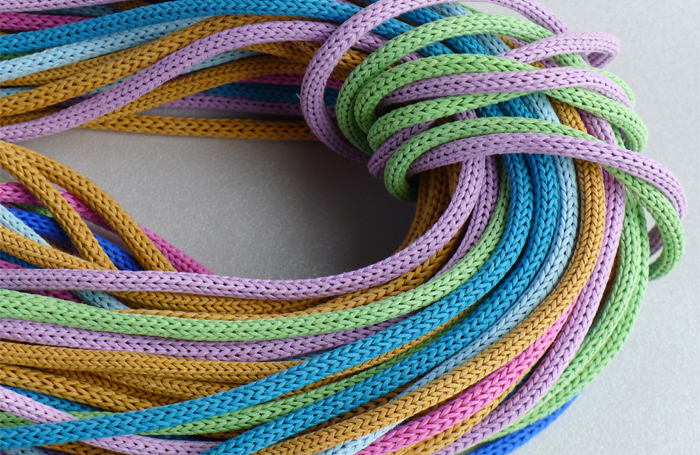 Knitted Paper Cord