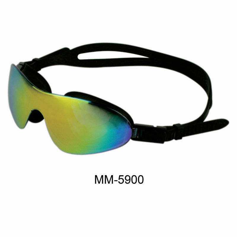 WHALE face fit PC clear lens fast sample swimming goggles CF-5900