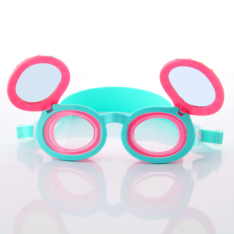 Leak proof colorful pearls children youth sunglasses swimming goggles CF-9900