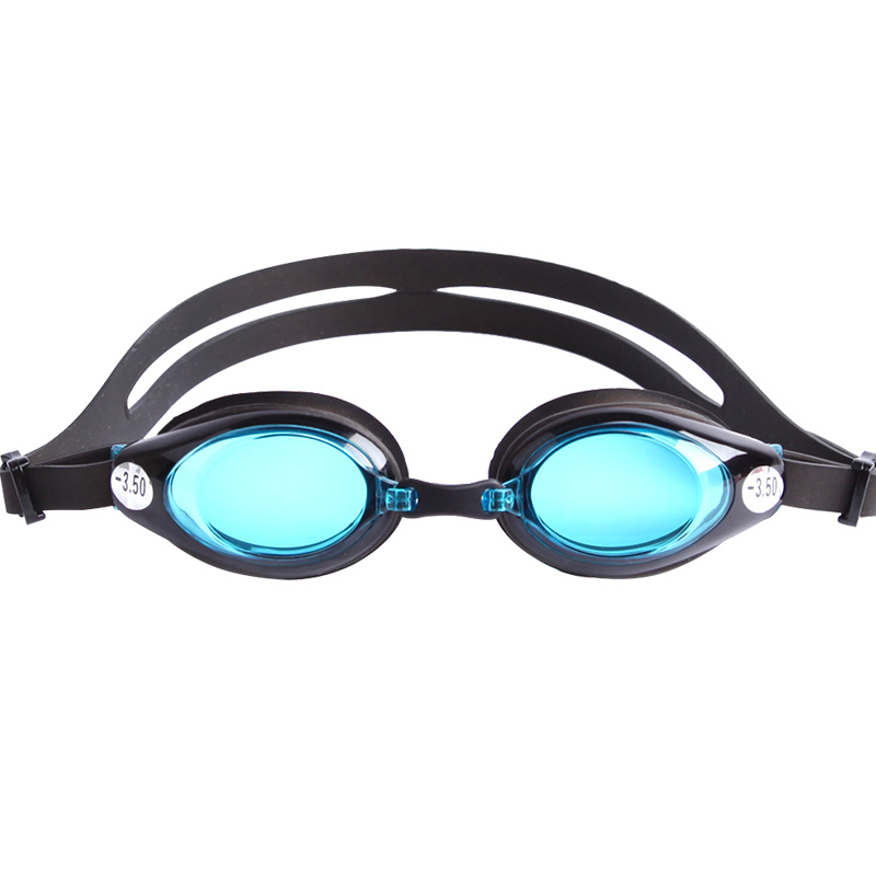 Silicone wide view myopia presbyopic swimming goggles OPT-6000