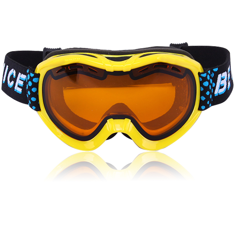 Reversible strap ultra wide-angle cylinder lens SGS Certificated ski goggles SNOW-2400