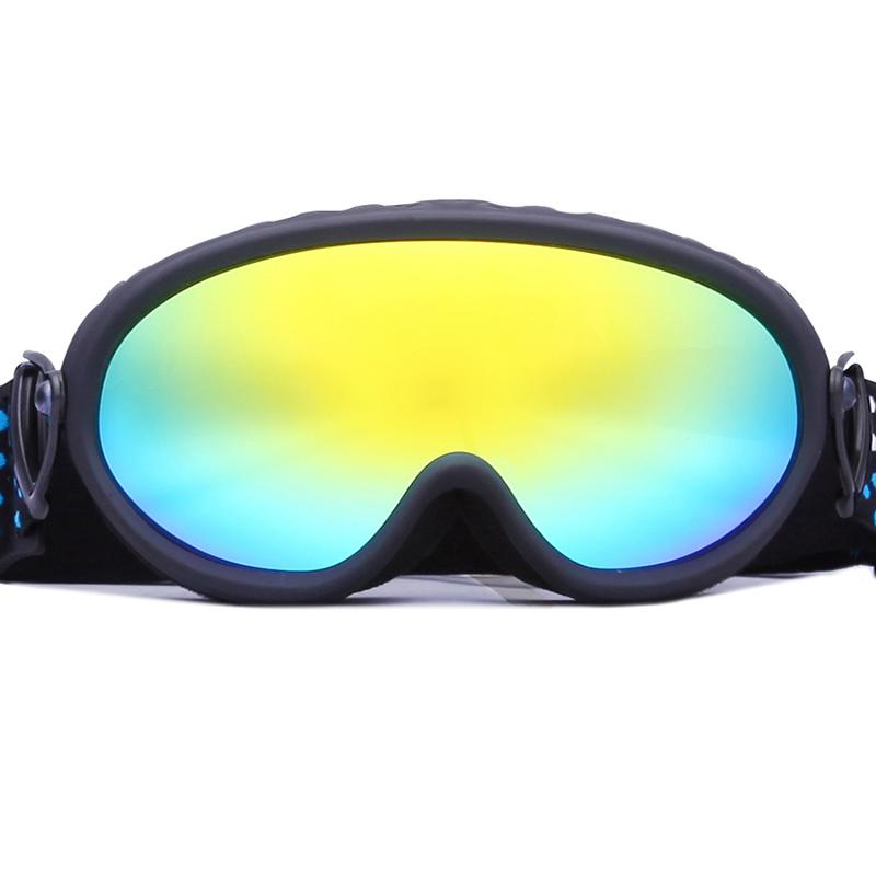 Strap-button Mirror Spherical lens Anti-fog UV400 Snow Goggles SNOW-3600