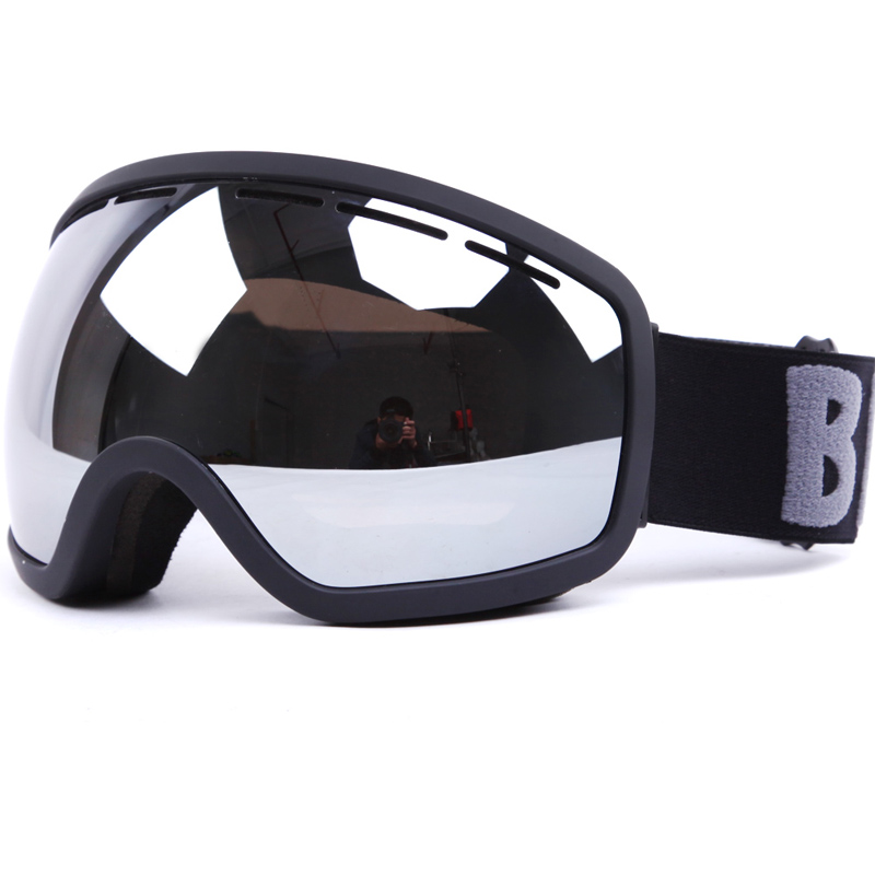 Classic Double Lens Replaceable Anti Fog Snowboarding Ski Goggles SNOW-2700