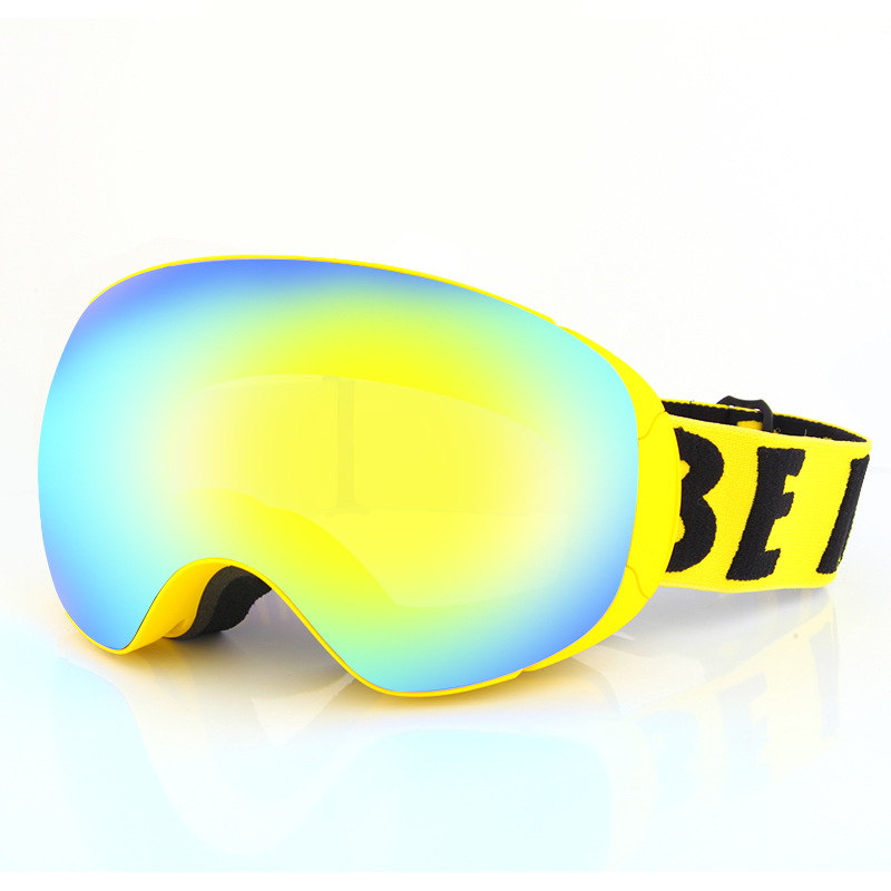 Top-class logo can be customized magnetic snowboard ski goggles SNOW-5900
