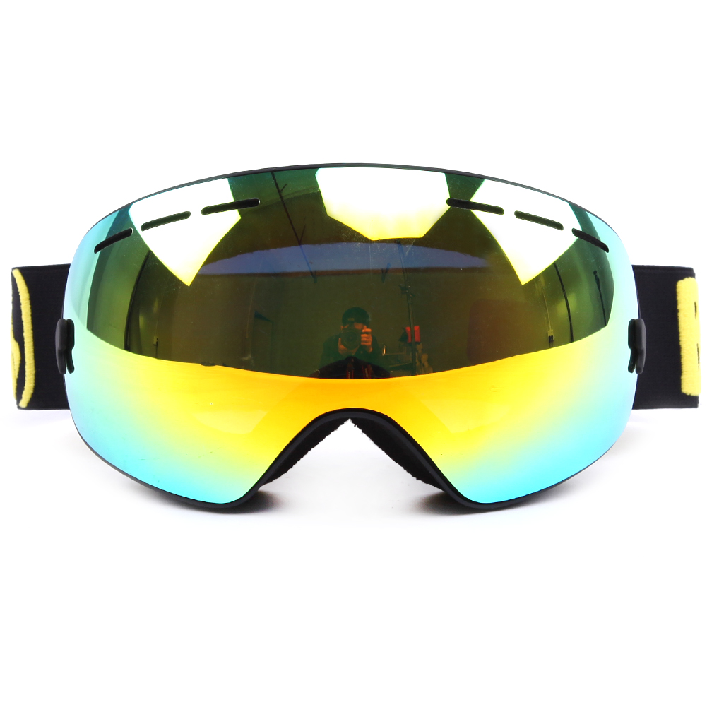 Newest polarized lens electroplating OEM ODM approved ski goggles SNOW-3700