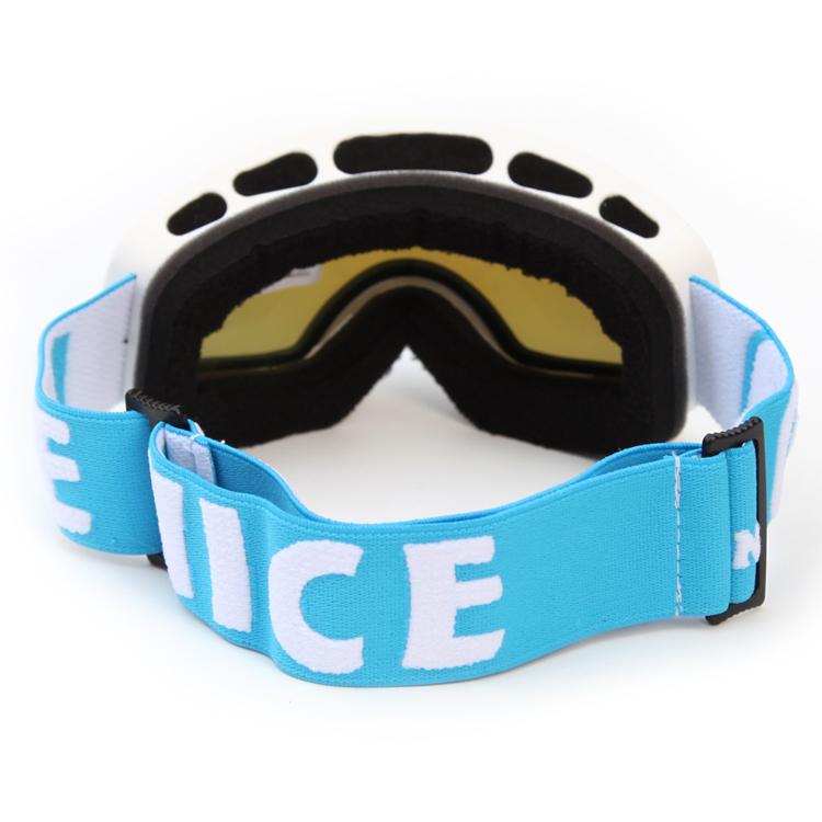 Junior bright color long lasting anti-fog ski goggles SNOW-4600