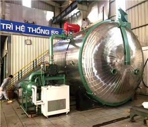 Variable Pressure Vacuum Drying Machine For Transformer