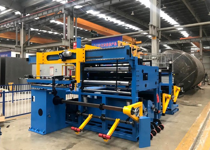 Foil winding machine for Low Voltage (LV) transformers