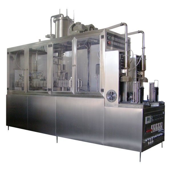 Milk Beverage Liquid Semi-automatic Brick Carton Filling Machine