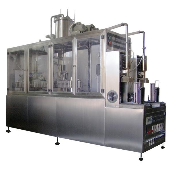 Semi Automatic Rice Gable Top Carton Filling Sealing Machine