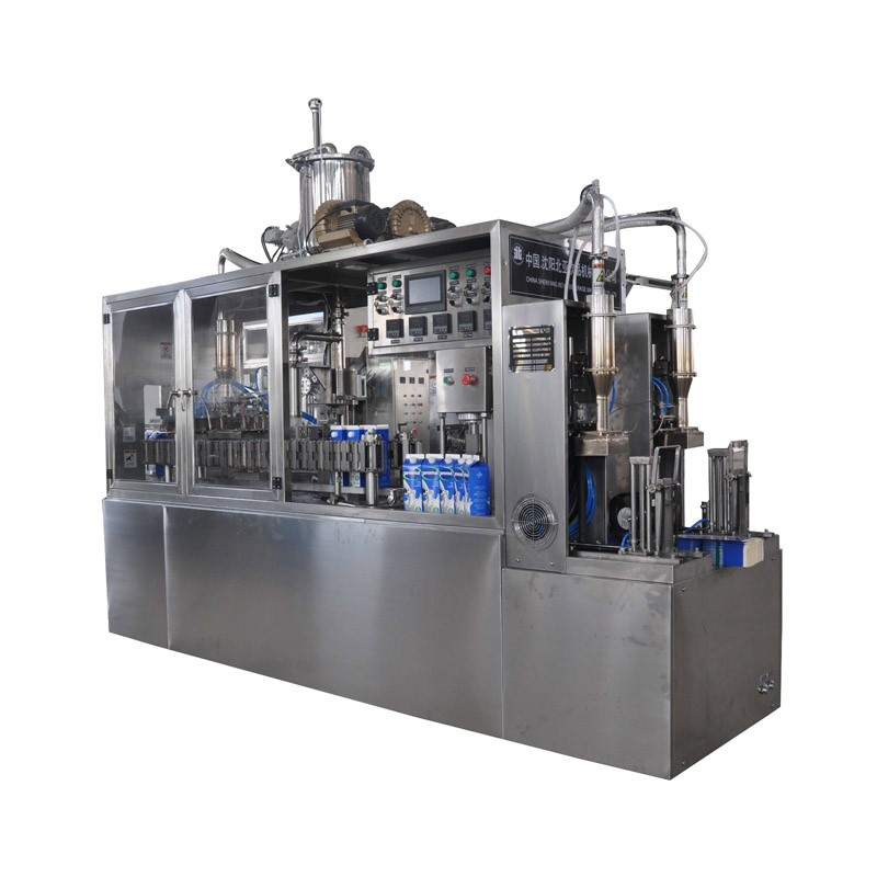 Liquid Egg Semi Automatic Gable Top Carton Filling Machine
