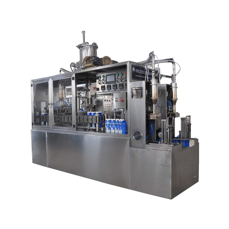 Juice Beverage Semi-automatic Gable Top Carton Filling Machine