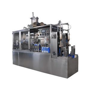 Juice Beverage Semi-automatic Gable Top Carton Filling Machine