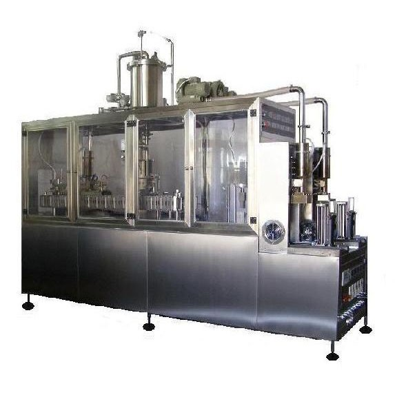 Fresh Juice Hot Filling Semi-automatic Gable Top Carton Filling Machine