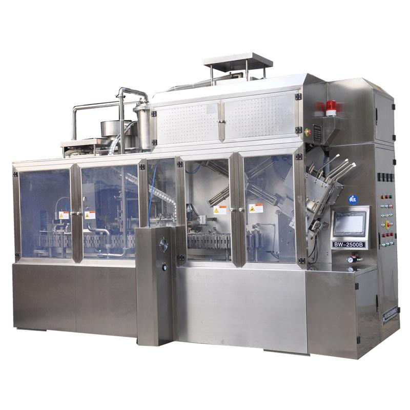 Juice Brick Carton Filling Fully Automatic Machine