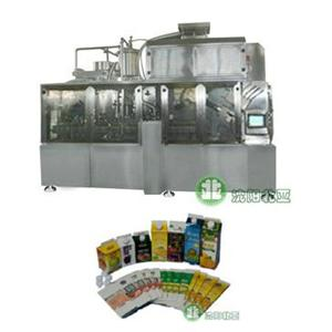 Beverage Brick Carton Fully Automatic Filling Equipment