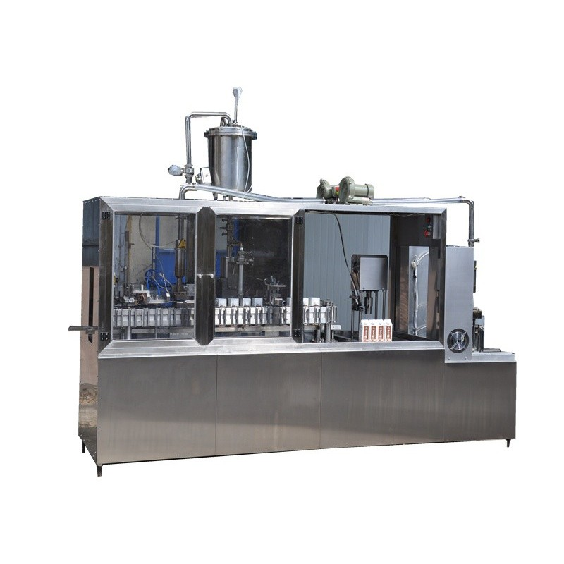 Brick Carton Sem Automatic Filling Machine