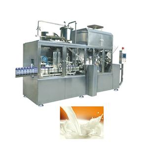 Soy Milk Gable Top Carton Filling Machine
