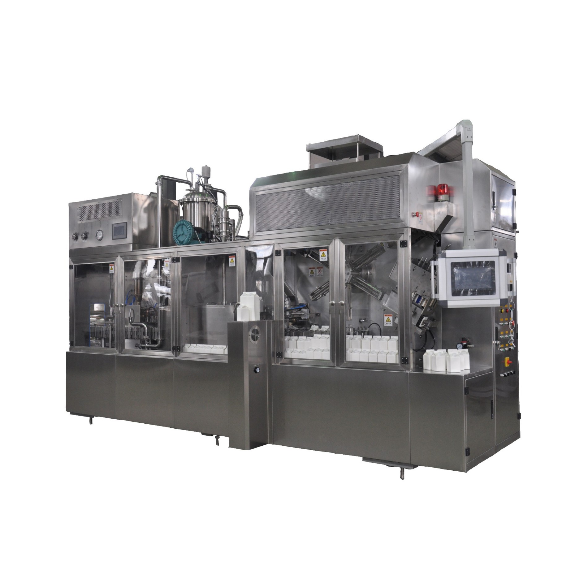 Gable Top Carton Filling Machine and Packaging Machine