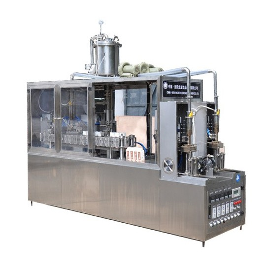 Soy Milk Gable Top Carton Packing Machine