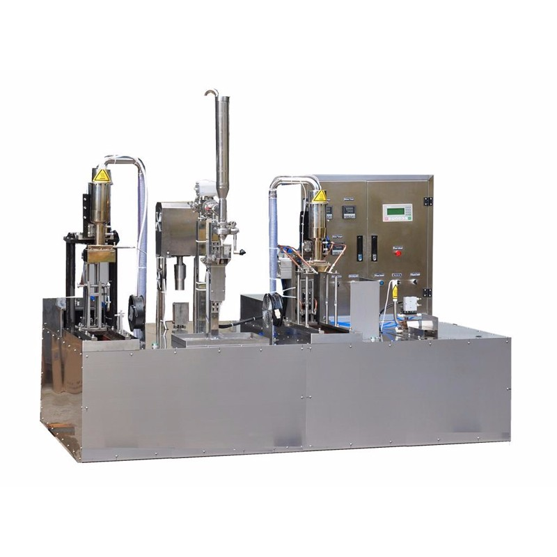 Fresh Milk Manual Gable Top Filling And Capping Machine