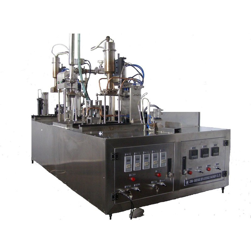Mineral Water Manual Gable Top Case Filling Equipment