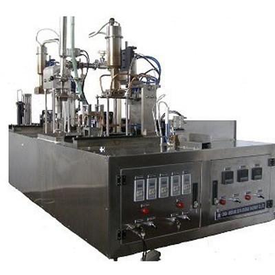 Wine Gable Top Carton Filling Sealing Capping Machine