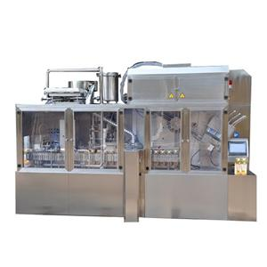 Fully Automatic Soy Sauce Gable Top Carton Packing Machine