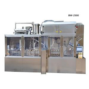 Cold Fill Milk Box Packing Capping Machine