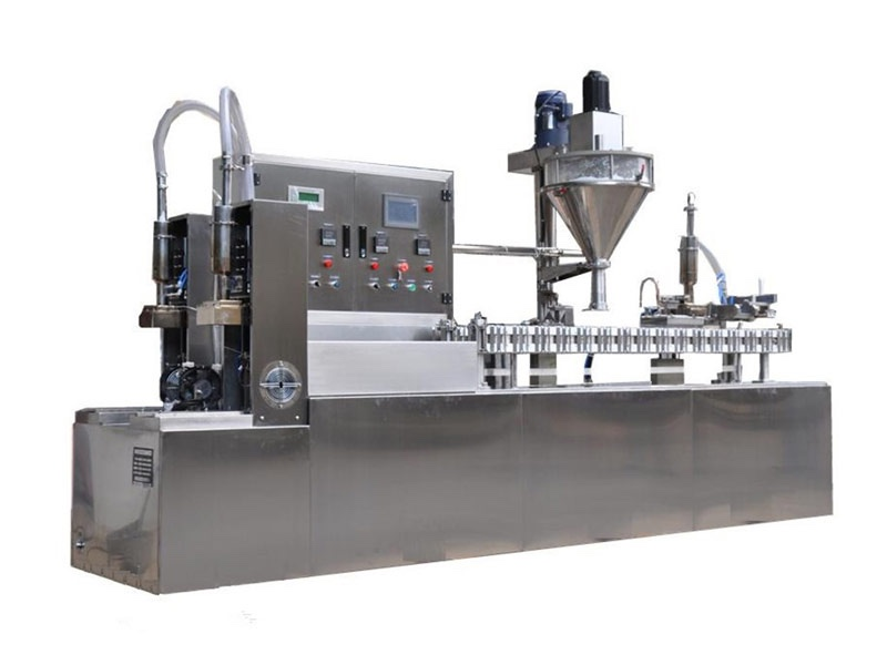 Pasteurized Milk Gable Top Filling Machine