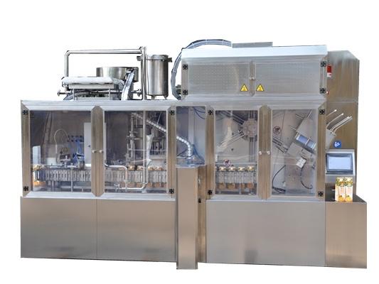 Yoghurt Gable Top Carton Cold Filling Machine