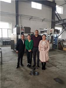 Customers from Puerto Rico visit our factory