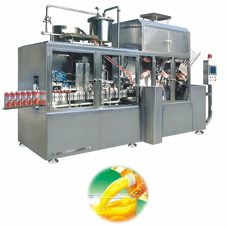 Liquid Carton Filling Sealing Machine