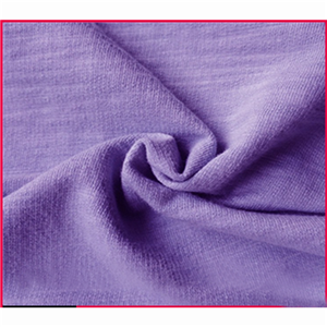 Semi-combed Cotton Spandex Single Jersey Knitted Fabric