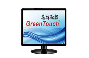 VGA 17 Inch Desktop Resistive Touch Screen Monitor