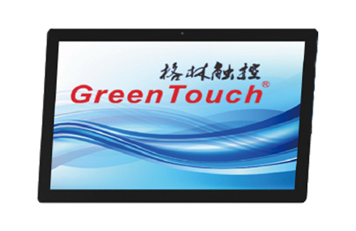 27inch projected capacitive touch display,waterproof and anti-dust 10 points touch screen