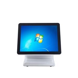 15 inch single screen pos machine with aluminium alloy shell